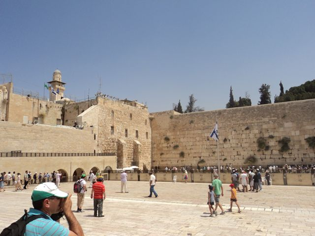 Westmauer in Jerusalem